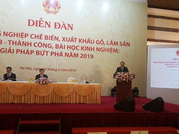 Bộ trưởng Nguyễn Xuân Cường phát biểu tại Diễn đàn